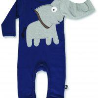 ubang_AW17_#476_Baby elephant onsie_navy