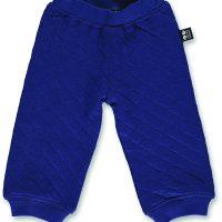 ubang_AW17_#482_Quilt baby pants_navy
