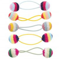 A0504_Hair_Elastic_Crochet_Ball